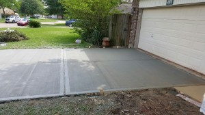 new-driveway-in-houston-texas - foundation repair service, Houston, TX