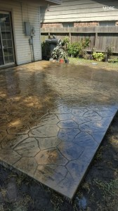 stamped-concrete-houston - foundation repair service